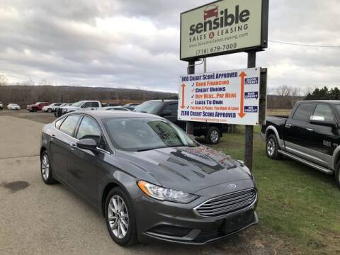 2017 Ford Fusion for sale at Sensible Sales & Leasing in Fredonia NY