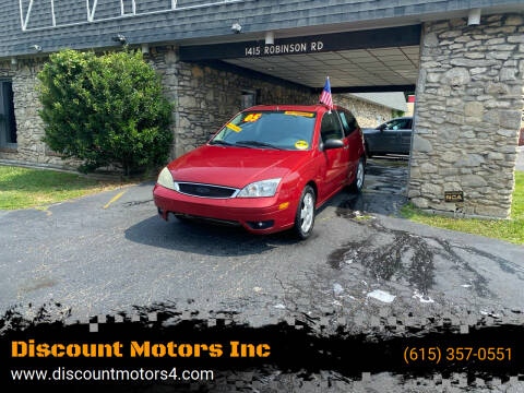 2005 Ford Focus for sale at Discount Motors Inc in Old Hickory TN