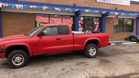 1998 Dodge Dakota for sale at Duke Automotive Group in Cincinnati OH
