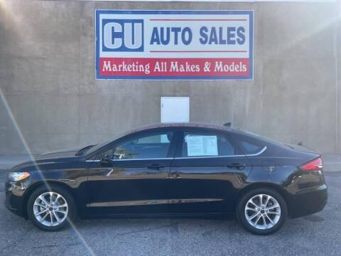 2020 Ford Fusion for sale at C U Auto Sales in Albuquerque NM