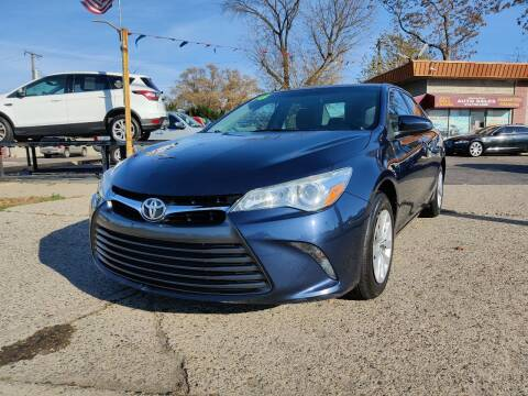 2016 Toyota Camry for sale at Lamarina Auto Sales in Dearborn Heights MI