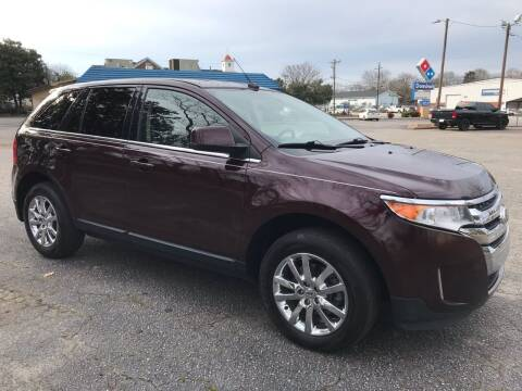 2011 Ford Edge for sale at Cherry Motors in Greenville SC