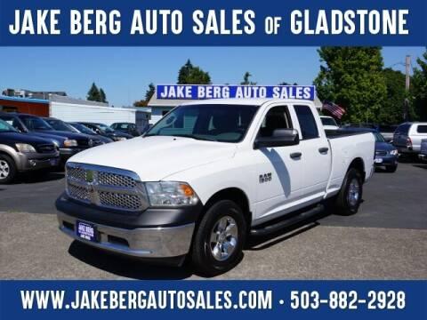 2013 RAM Ram Pickup 1500 for sale at Jake Berg Auto Sales in Gladstone OR
