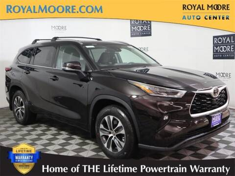 2021 Toyota Highlander for sale at Royal Moore Custom Finance in Hillsboro OR