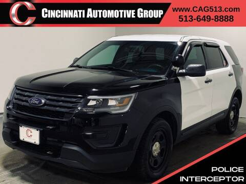2017 Ford Explorer for sale at Cincinnati Automotive Group in Lebanon OH