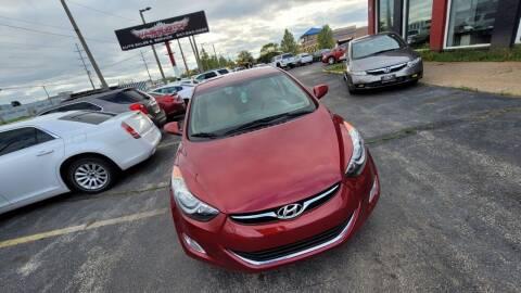 2013 Hyundai Elantra for sale at Washington Auto Group in Waukegan IL