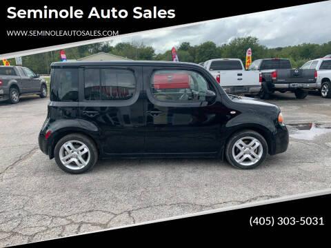 2009 Nissan cube for sale at Seminole Auto Sales in Seminole OK