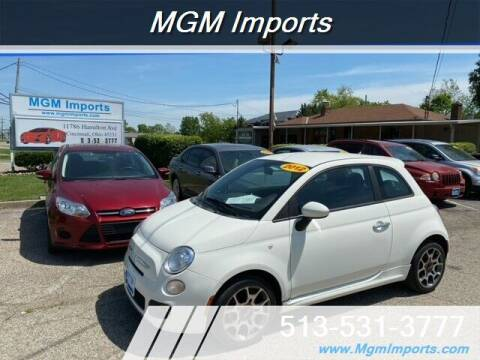 2012 FIAT 500 for sale at MGM Imports in Cincinnati OH