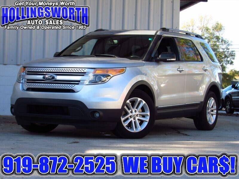 2014 Ford Explorer for sale at Hollingsworth Auto Sales in Raleigh NC