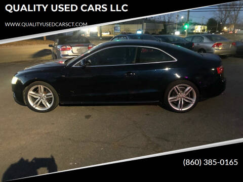 2009 Audi S5 for sale at QUALITY USED CARS LLC in Wallingford CT
