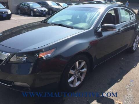 2012 Acura TL for sale at J & M Automotive in Naugatuck CT