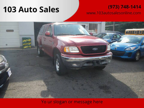 2003 Ford F-150 for sale at 103 Auto Sales in Bloomfield NJ