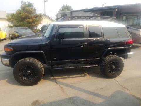 2007 Toyota FJ Cruiser for sale at Freds Auto Sales LLC in Carson City NV