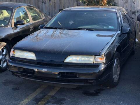 1993 Ford Thunderbird for sale at Bel Air Auto Sales in Milford CT