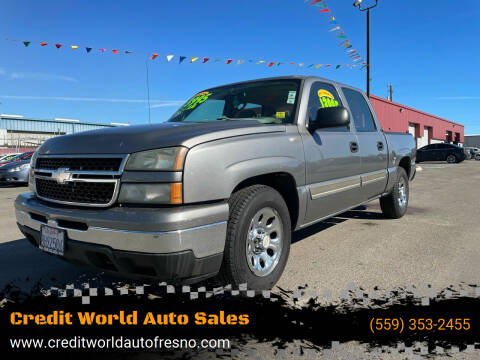 2007 Chevrolet Silverado 1500 Classic for sale at Credit World Auto Sales in Fresno CA