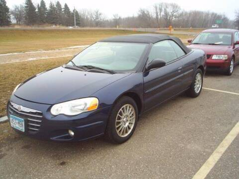 2005 Chrysler Sebring for sale at Dales Auto Sales in Hutchinson MN