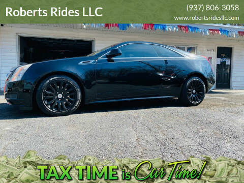 2012 Cadillac CTS for sale at Roberts Rides LLC in Franklin OH