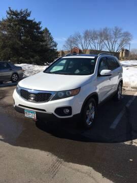 2012 Kia Sorento for sale at Specialty Auto Wholesalers Inc in Eden Prairie MN