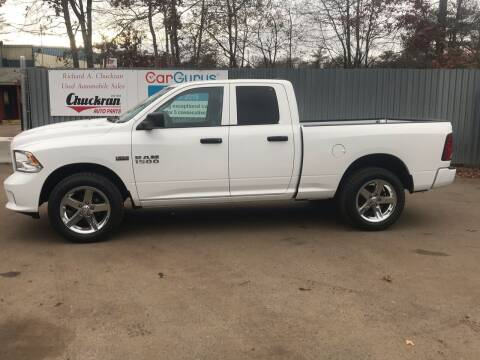 2017 RAM Ram Pickup 1500 for sale at Chuckran Auto Parts Inc in Bridgewater MA