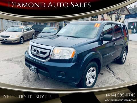2011 Honda Pilot for sale at Diamond Auto Sales in Milwaukee WI