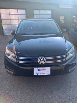2013 Volkswagen Tiguan for sale at MEANS SALES & SERVICE in Warren PA