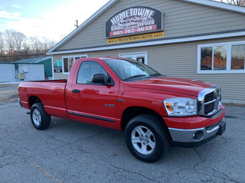 2008 Dodge Ram Pickup 1500 for sale at Home Towne Auto Sales in North Smithfield RI