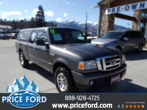 2011 Ford Ranger for sale at Price Ford Lincoln in Port Angeles WA