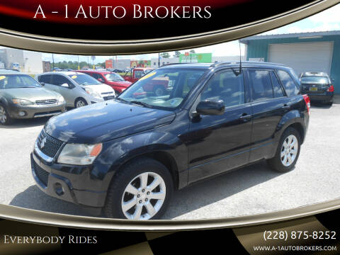 2012 Suzuki Grand Vitara for sale at A - 1 Auto Brokers in Ocean Springs MS