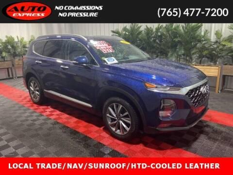 2019 Hyundai Santa Fe for sale at Auto Express in Lafayette IN
