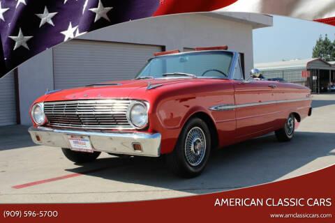 1963 Ford Falcon for sale at American Classic Cars in La Verne CA