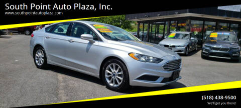 2017 Ford Fusion for sale at South Point Auto Plaza, Inc. in Albany NY
