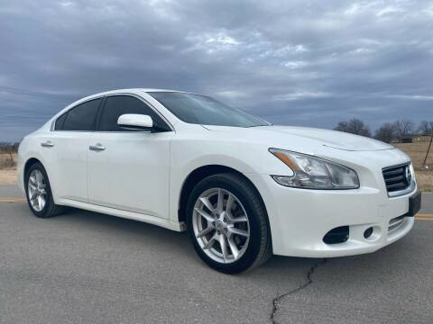 2014 Nissan Maxima for sale at ILUVCHEAPCARS.COM in Tulsa OK