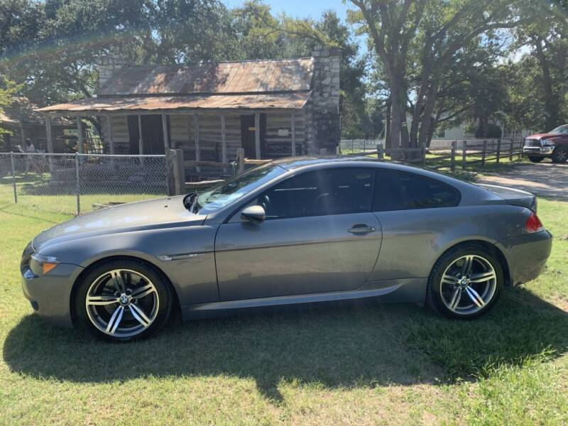 2007 BMW M6 for sale at Village Motors Of Salado in Salado TX