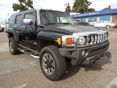 2006 HUMMER H3 for sale at All American Motors in Tacoma WA