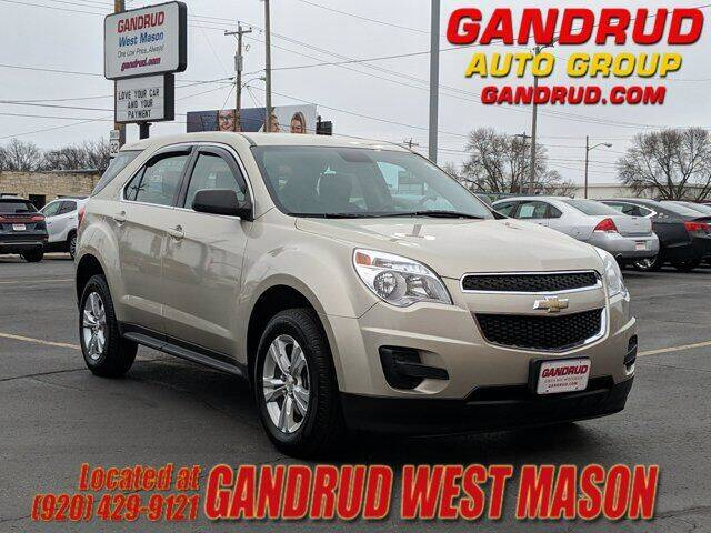 2015 Chevrolet Equinox for sale at GANDRUD CHEVROLET in Green Bay WI