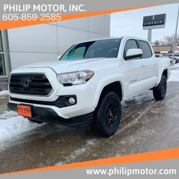 2019 Toyota Tacoma for sale at Philip Motor Inc in Philip SD