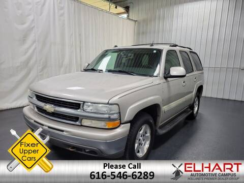 2004 Chevrolet Tahoe for sale at Elhart Automotive Campus in Holland MI