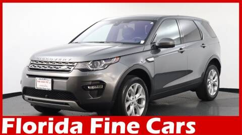 2018 Land Rover Discovery Sport for sale at Florida Fine Cars - West Palm Beach in West Palm Beach FL