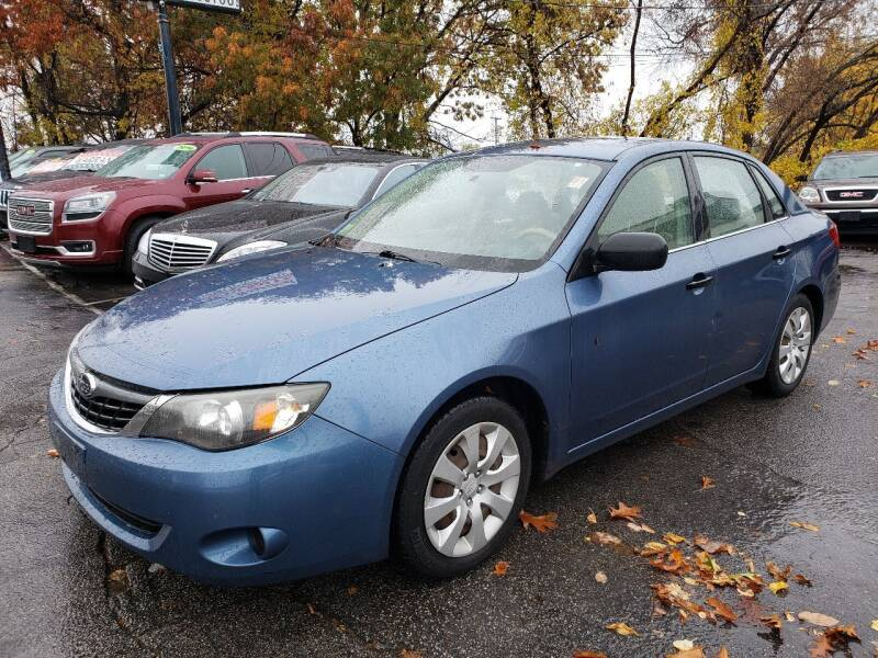 2008 Subaru Impreza for sale at Real Deal Auto Sales in Manchester NH