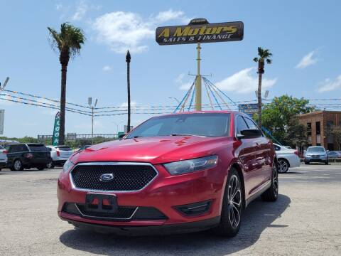 2013 Ford Taurus for sale at A MOTORS SALES AND FINANCE - 5630 San Pedro Ave in San Antonio TX