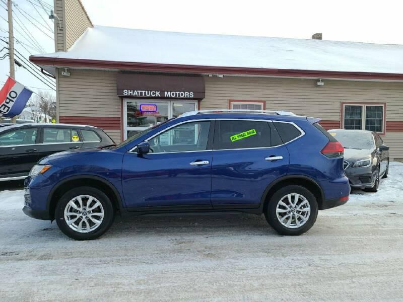 2020 Nissan Rogue for sale at Shattuck Motors in Newport VT