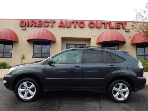 2007 Lexus RX 350 for sale at Direct Auto Outlet LLC in Fair Oaks CA