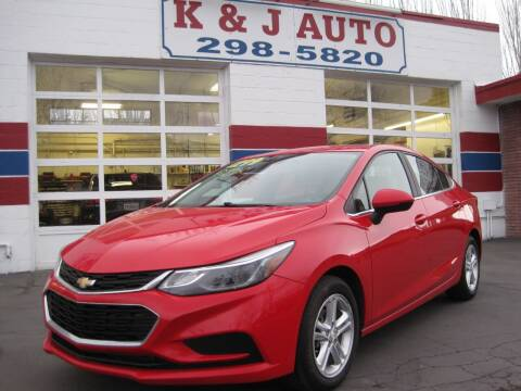 2016 Chevrolet Cruze for sale at K & J Auto Rent 2 Own in Bountiful UT