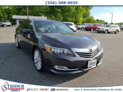 2015 Acura RLX for sale at STRIDER BUICK GMC SUBARU in Asheboro NC