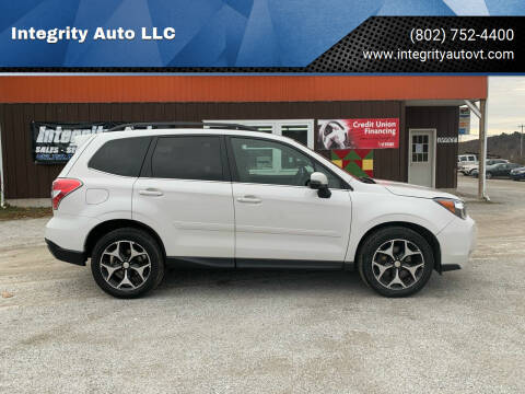 2014 Subaru Forester for sale at Integrity Auto LLC in Sheldon VT