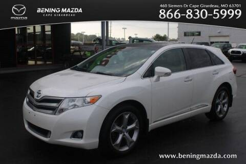 2013 Toyota Venza for sale at Bening Mazda in Cape Girardeau MO
