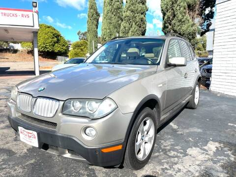 2008 BMW X3 for sale at MotorSport Auto Sales in San Diego CA