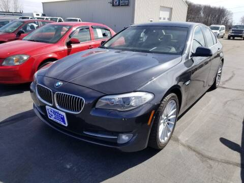 2012 BMW 5 Series for sale at Larry Schaaf Auto Sales in Saint Marys OH