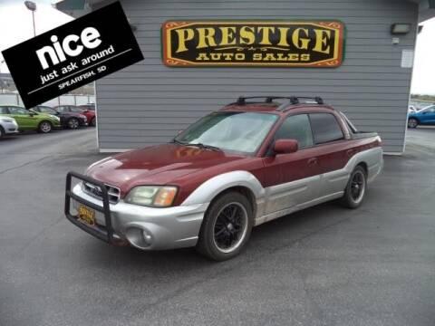 2003 Subaru Baja for sale at PRESTIGE AUTO SALES in Spearfish SD