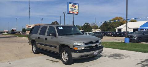 2003 Chevrolet Suburban for sale at America Auto Inc in South Sioux City NE